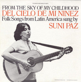 From the Sky of My Childhood (1979)  Suni Paz CD