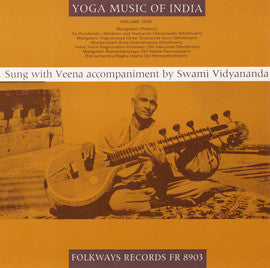 Swami Vidyananda   Yoga Music of India, Vol. 1 (1964) CD