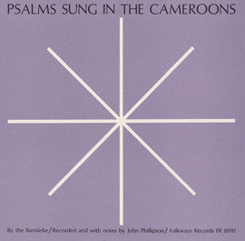 Psalms Sung in the Cameroons CD