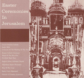 Easter Ceremonies in Jerusalem (1957)  CD
