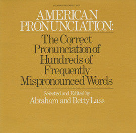 American Pronunciation CD