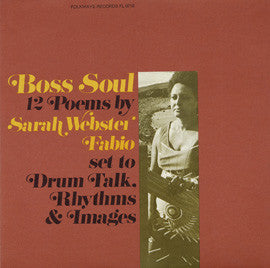 Boss Soul: 12 Poems by Sarah Webster Fabio CD