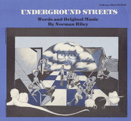 Underground Streets  Poetry with Jazz (1980)  Norman Riley CD