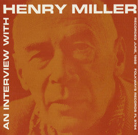 An Interview with Henry Miller CD