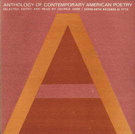 Anthology of Contemporary American Poetry CD