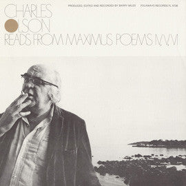 Charles Olson Reads from Maximus Poems IV, V, VI CD