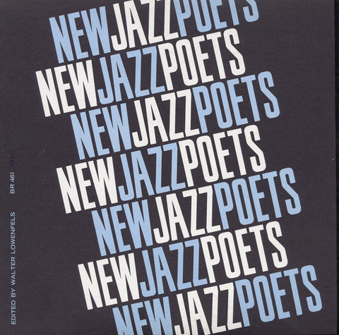 New Jazz Poets (1967)  Ishmael Reed, Joel Oppenheimer, Roland Stone, others CD