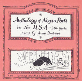 Anthology of Negro Poets in the U.S.A. - 200 Years CD