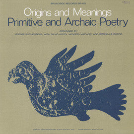 A Reading of Primitive and Archaic Poetry: Arranged by Jerome Rothenberg CD