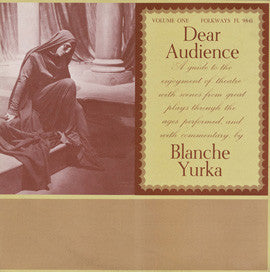 Dear Audience, Vol. 1: A Guide to the Enjoyment of Theater with Scenes from Great Plays through the Ages CD