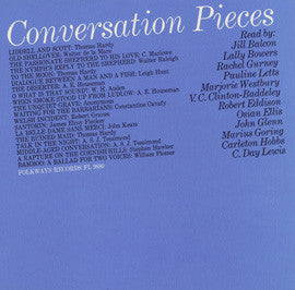 Conversation Pieces: Read By Jill Balcon, Lally Bowers, Rachel Gurney, Pauline Letts, Marjorie Westbury, etc. CD