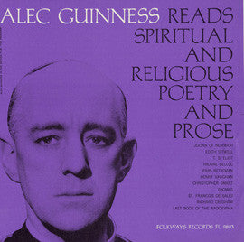 Christian Poetry and Prose: Selected and Read by Alec Guinness CD