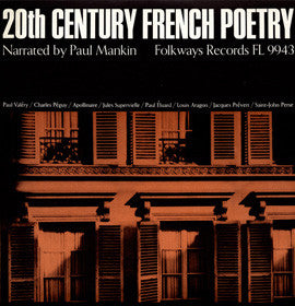 20th Century French Poetry: Narrated by Paul Mankin CD