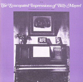 Syncopated Impressions of Billy Mayerl (1976)  CD