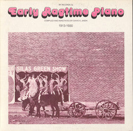 Early Piano Ragtime 1913-30 (1977)  James P. Johnson, Jelly Roll Morton, Harry Thomas, others CD