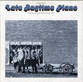 Late Piano Ragtime  1940-1950's Performances (1977)  CD