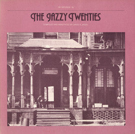 The Jazzy Twenties (1978)  Original Memphis Five, Jabbo Smith, New Orleans Owls, others CD
