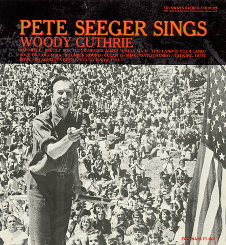 Pete Seeger  Sings Woody Guthrie (1968) CD