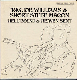 Hell Bound and Heaven Sent Blues (1968)  Big Joe Williams CD