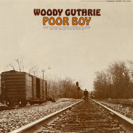Woody Guthrie  Poor Boy (1968) CD