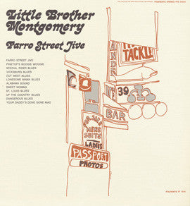 Farro Street Jive (1968)  Little Brother Montgomery CD