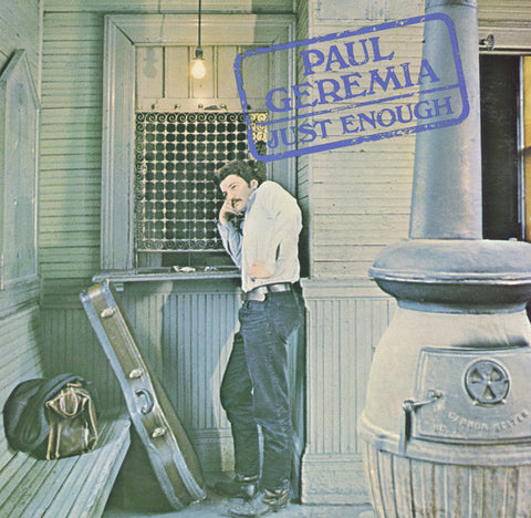 Paul Geremia  Just Enough (1968) CD