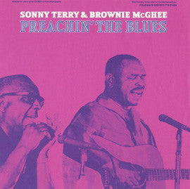 Preachin' the Blues (1968)  Sonny Terry and Brownie McGhee CD