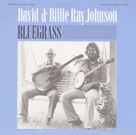 David Johnson and Billy Ray  Bluegrass (1983) CD