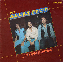 Allen Brothers  Are You Feeling It Too? (1980) CD