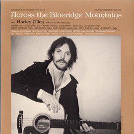 Across the Blueridge Mountains (1983)  Harley Allen CD