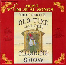 Tommy Scott  Last Real Medicine Show  The World's Most Unusual Song  (1984) CD
