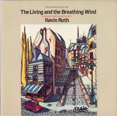 Kevin Roth  The Living and Breathing Wind (1981) CD
