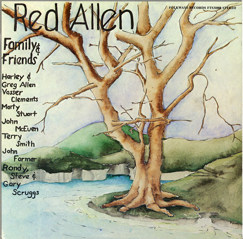 Red Allen and Friends (1981)  Red Allen with Vassar Clements, Marty Stuart, others CD