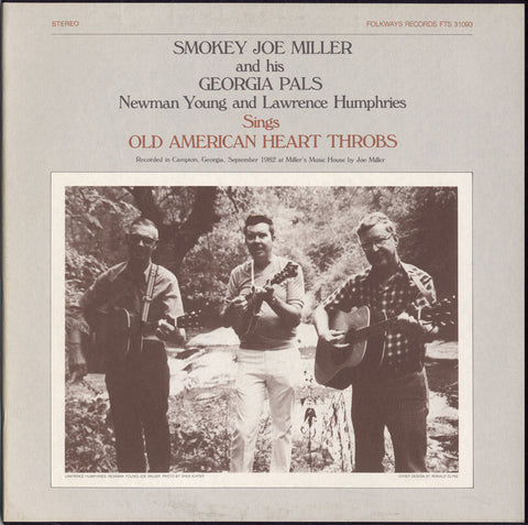 Old American Heart Throbs (1982)  Smokey Joe Miller CD