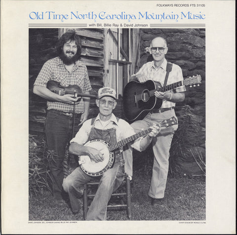 Old Time North Carolina Mountain Music (1985)  David Johnson and Billy Ray CD