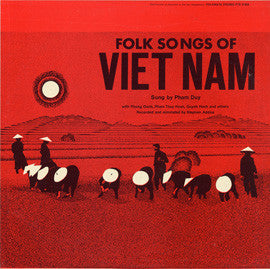 Folk Songs of Vietnam (1968)  CD