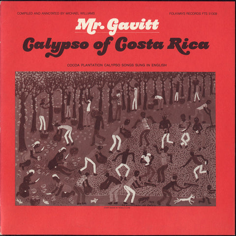 Mr. Gavitt  Calypsos of Costa Rica (1982)  Walter Gerguson Gavitt CD