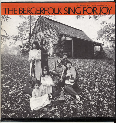 Bergerfolk  Vol. 1, Sing for Joy (1971) CD