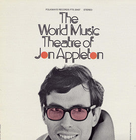 Jon Appleton  The World Music Theater of Jon Appleton (Electronic) (1974) CD