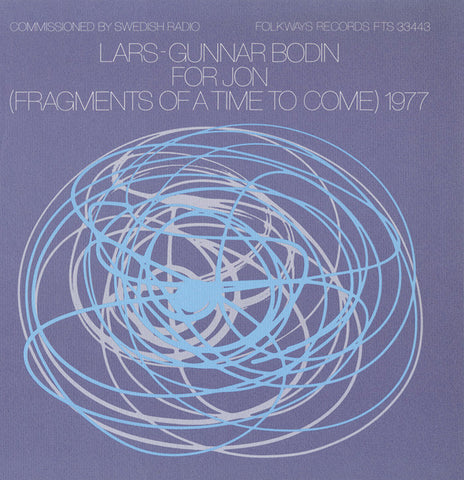 Lars-Gunnar Bodin  For Jon (Fragments of a Time to Come) 1977 (1978) CD