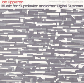 Jon Appleton:  Music for Synclavier and Other Digital Systems (1978) CD