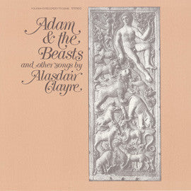 Adam and the Beasts and Other Songs (1978)  Alasdair Clayre CD