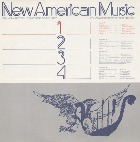 New American Music, Vol. 1  Gil Evans, Mary Lou Williams, Sunny Murray, others (1975) CD