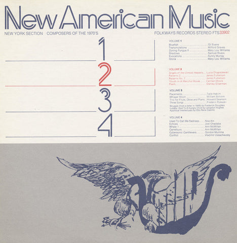 New American Music, Vol. 2  James Fulkerson, Stanley Silverman, others (1975) CD