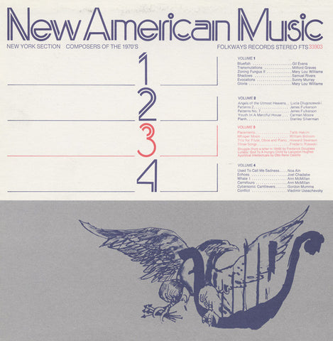 New American Music, Vol. 3  Talib Hakim, William Bolcom, others (1975) CD