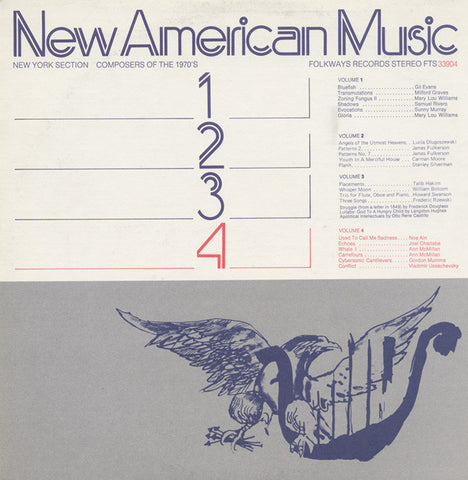 New American Music, Vol. 4  Ann McMillan, Noa Ain, others (1975) CD