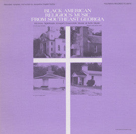 Black American Religious Music from Southeast Georgia (1983)  CD