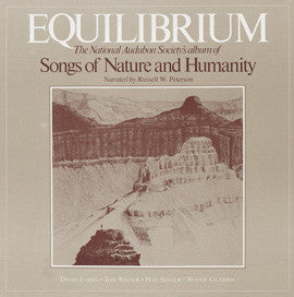 American Folk Anthologies  Equilibrium, Songs of Nature and Humanity with Pete Seeger, Woody Guthrie, Tom Wisner, David Laing (1980) CD