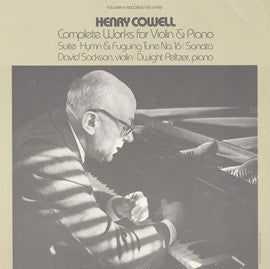Henry Cowell's Complete Works for Violin and Piano (1980) CD