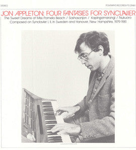 Jon Appleton:  Four Fantasies for Synclavier (1982) CD